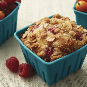 Raspberry Almond Streusel Muffins Recipe