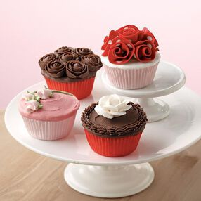 Rose Cupcake Quartet