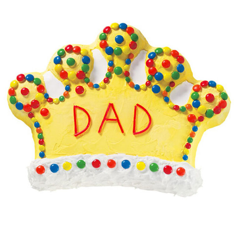Dad is King Cake