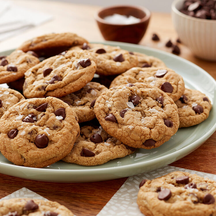 Oat Flour Chocolate Chip Cookies