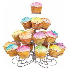 Clouds of Color Cupcakes