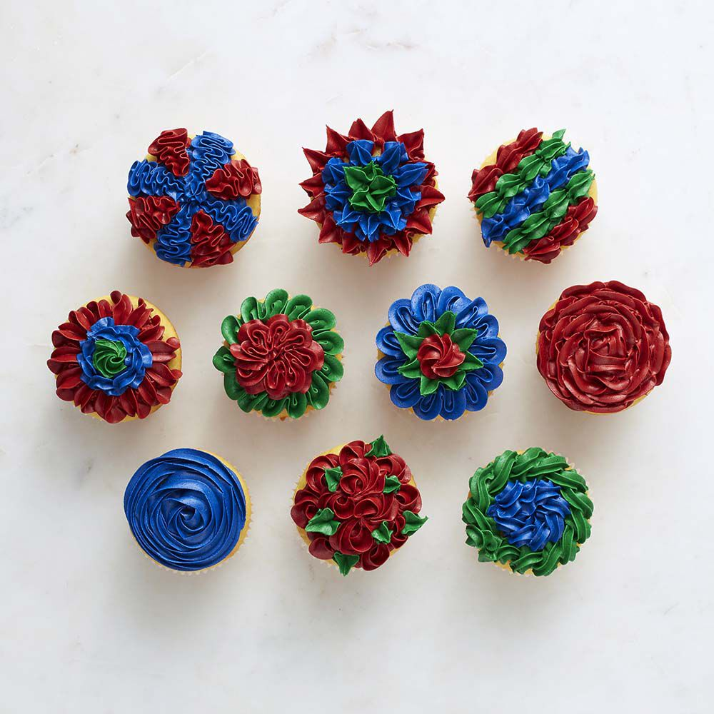 10 Ways To Decorate Cupcakes With Tip 74