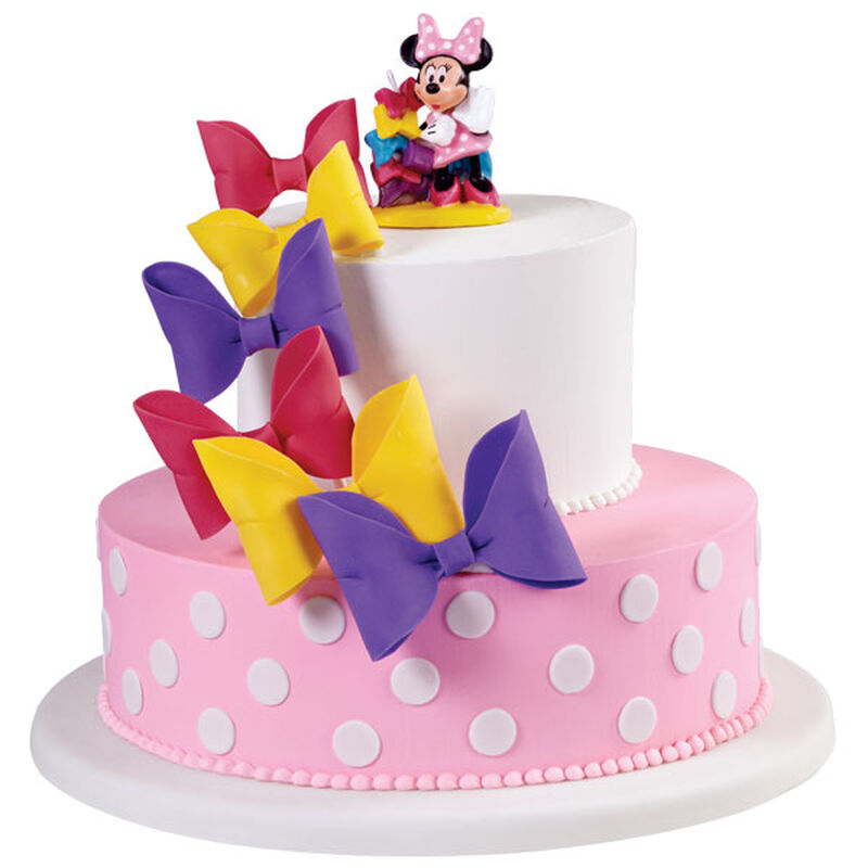 Minnie Mouse Bows in a Row Cake image number 0