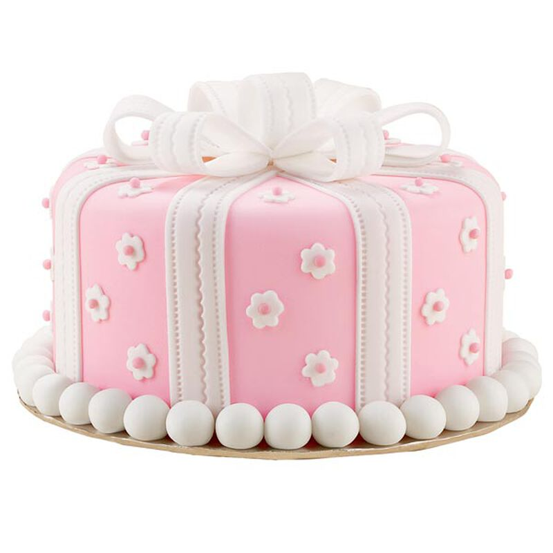 Pretty as a Present Cake image number 0