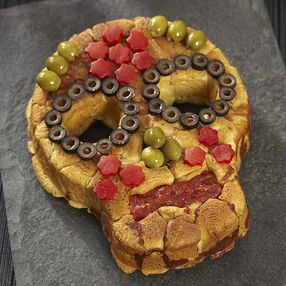 Skull Pull Apart Pizza Bread Recipe