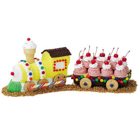 Chilly Choo-Choo Cake