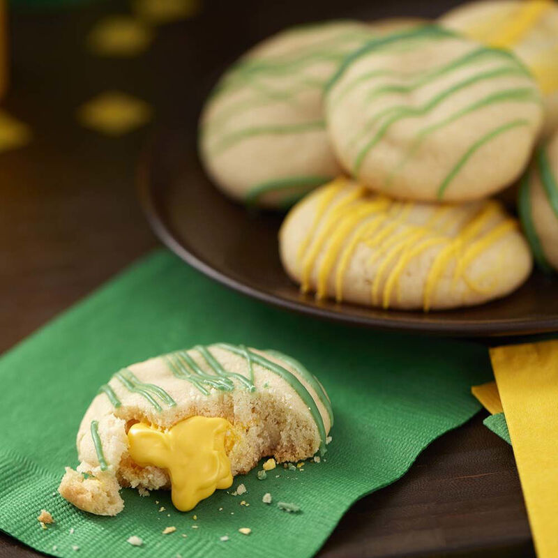 Surprise Inside Candy Melts Stuffed Cookies Recipe image number 0
