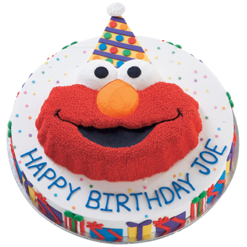 Elmo's Been Wrapping Cake image number 0
