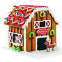 Santa's Reindeer Barn Gingerbread House