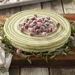 Christmas Cranberry Cheesecake