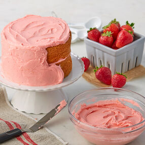 Strawberry Buttercream Icing Recipe