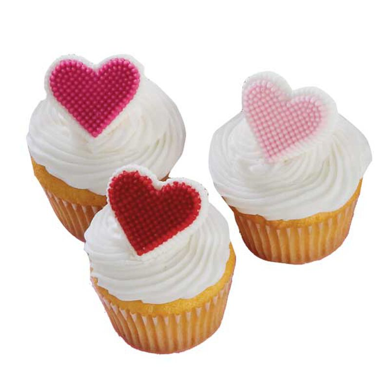 Mini Heart Cupcakes image number 0