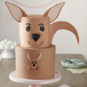 Kangaroo and Joey cake