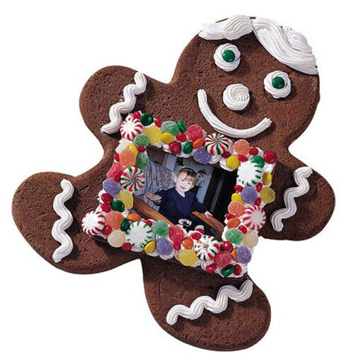 Picture Perfect Holiday Gingerbread Cookie
