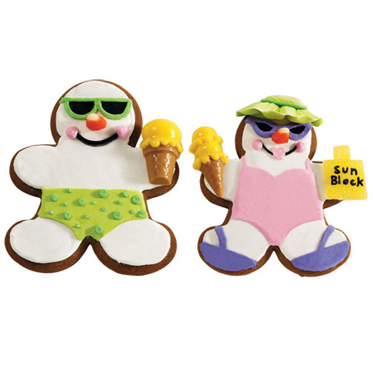 Summer Couple Cookies