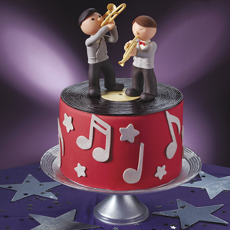1940's Band Cake image number 0