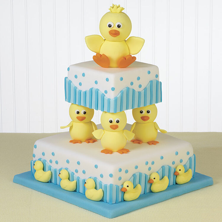 Bathtime Buddies Cake