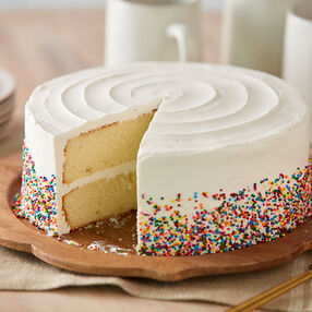 Fluffy Yellow Cake Recipe