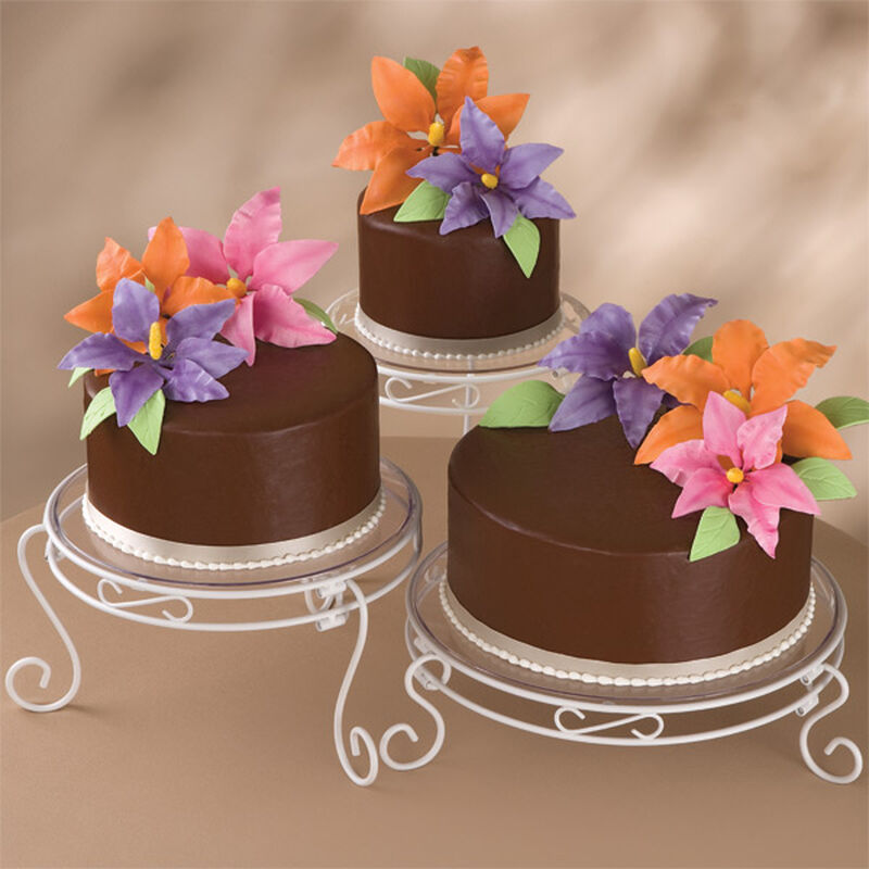 Blossoming Chocolate Trio Cake image number 0