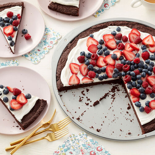 Brownie Dessert Pizza Recipe