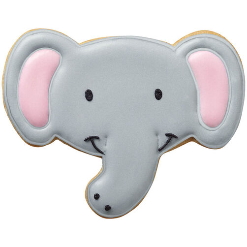 Smiling Elephant Cookies