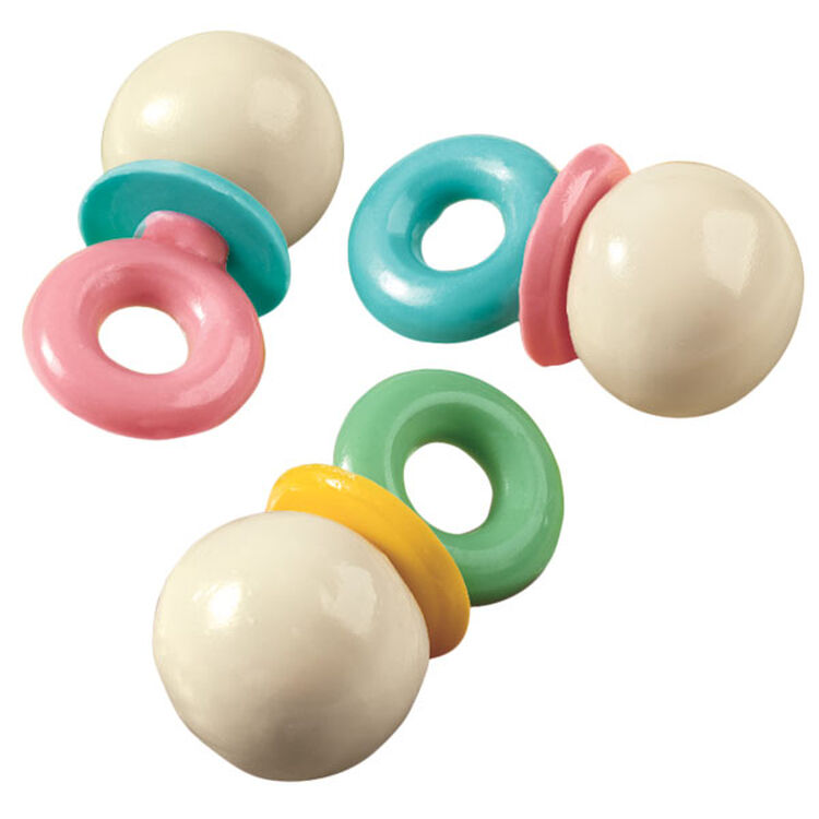 Pacifiers in Pastels Cake Pops