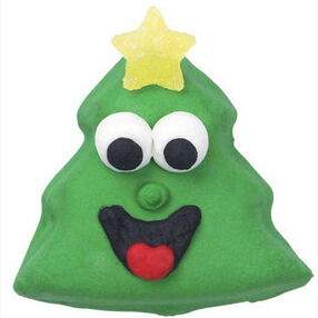 Smiling Spruce Cookies