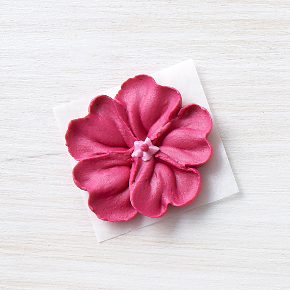 How to make a wilton rose with royal icing