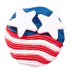 Seeing Stars and Stripes Cupcakes