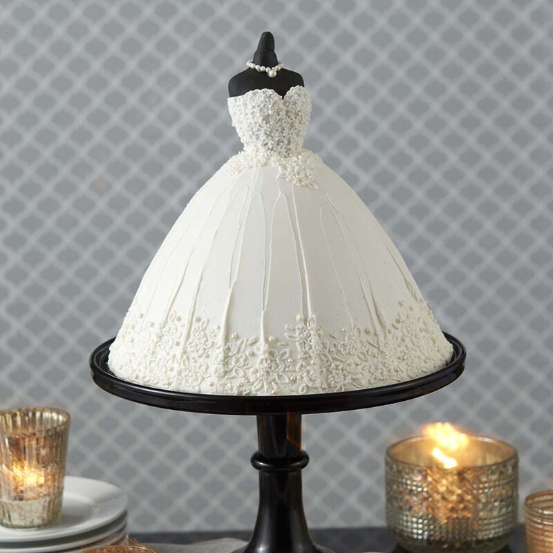 Wedding Dress Cake image number 0