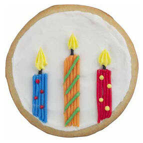 Birthday Time Cookies