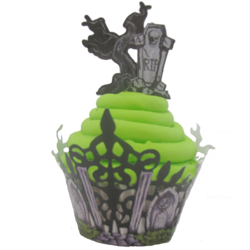 Wrapped in Haunted Wonder Cupcake image number 0