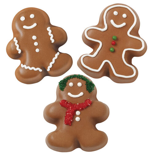 Gingerbread Boy and Girl Petite Treats