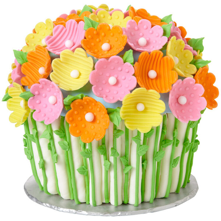 Flowers for Mother's Day Giant Cupcake Cake