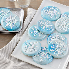 Snowflake Cookies - Holiday Cookies
