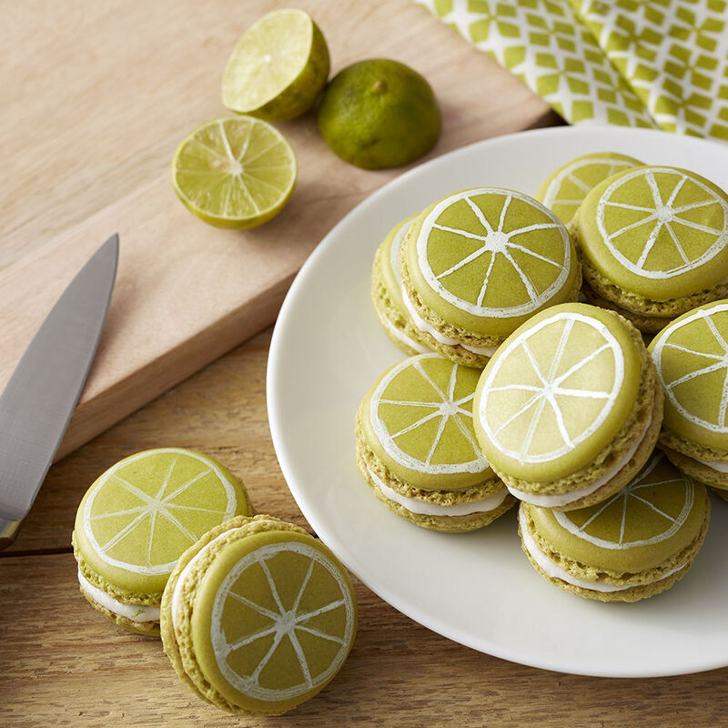 Key Lime Macarons Recipe image number 0