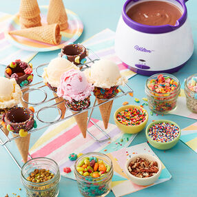 Decorated Sugar Cones