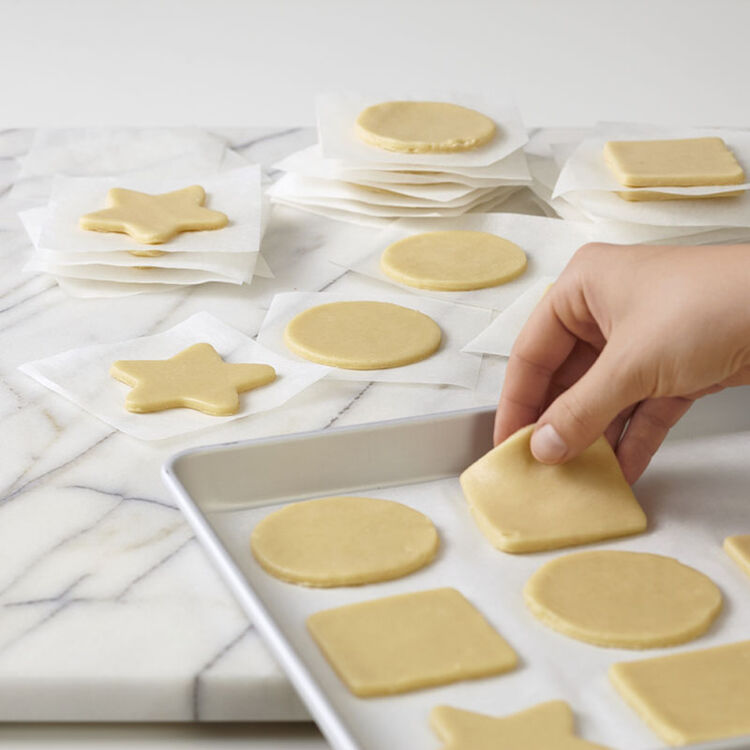 Unbaked Cut Out Sugar Cookies