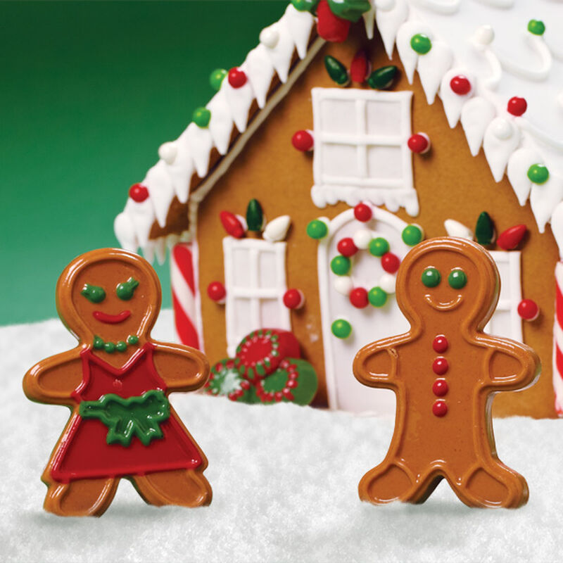 Gingerbread House Candy Accents image number 0