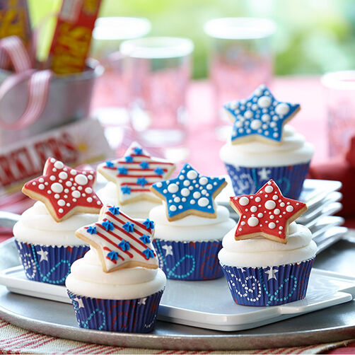 Star Spangled Sweets Cupcakes Wilton