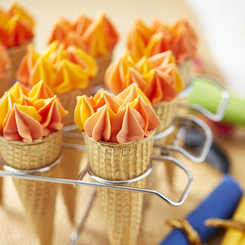 Olympic Flame Cone Cake Torches