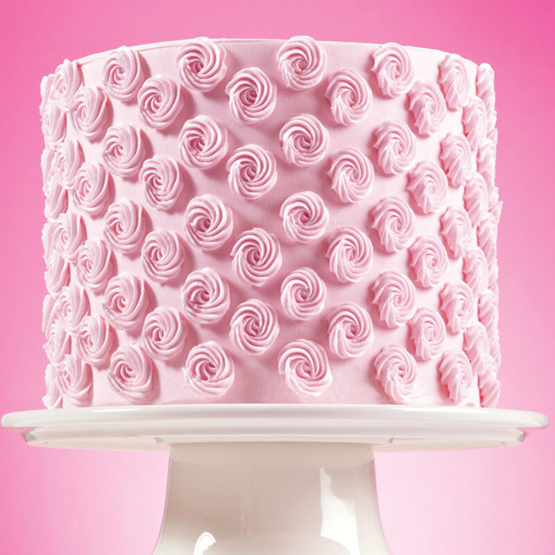 Simplified Rosette Cake image number 0