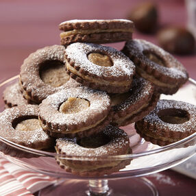 Chesnut Chocolate Cookies