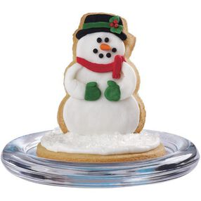 Classic Snowman Winter Cookie