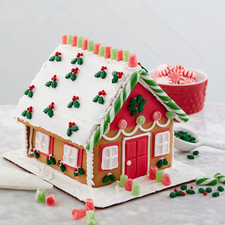 Dressed for the Holidays Gingerbread House #2