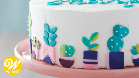 How to Inlay Fondant Using Cut-Outs