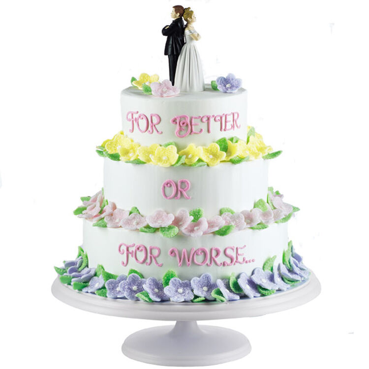 For Better or For Worse Wedding Cake