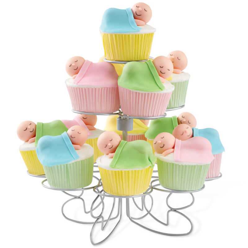 Quiet Please Sleeping Baby Cupcakes image number 0