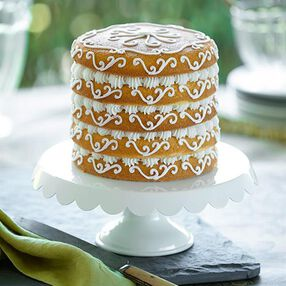 Scroll Simplicity Easy Layers! Cake