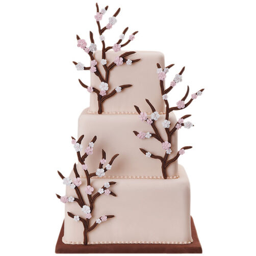 The Family Tree Branches Out Cake